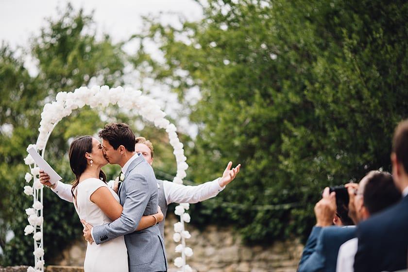 outdoor france wedding