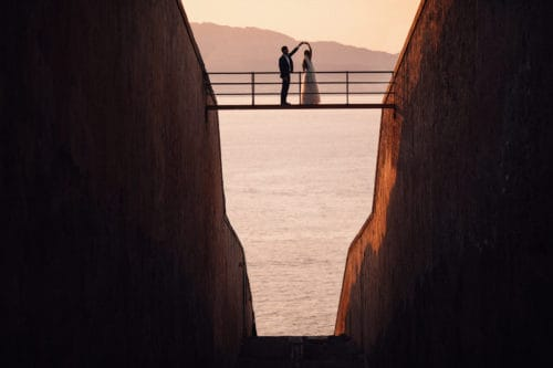 Cap Rocat Mallorca wedding photography