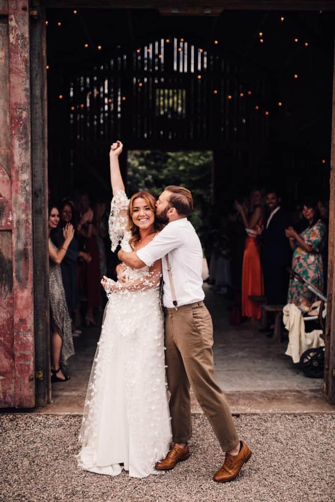 best Cornwall wedding photography at nancalrrow farm