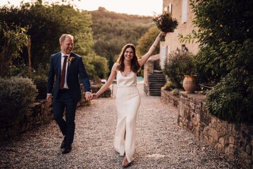 chateau de queille wedding photography