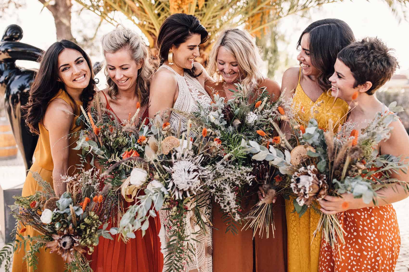 bridesmaid wedding dress inspiration