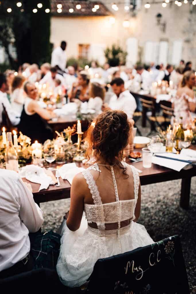 chateau de malliac wedding in France