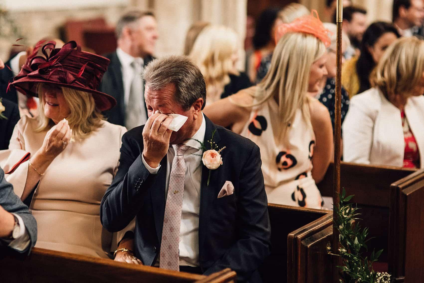 English church wedding