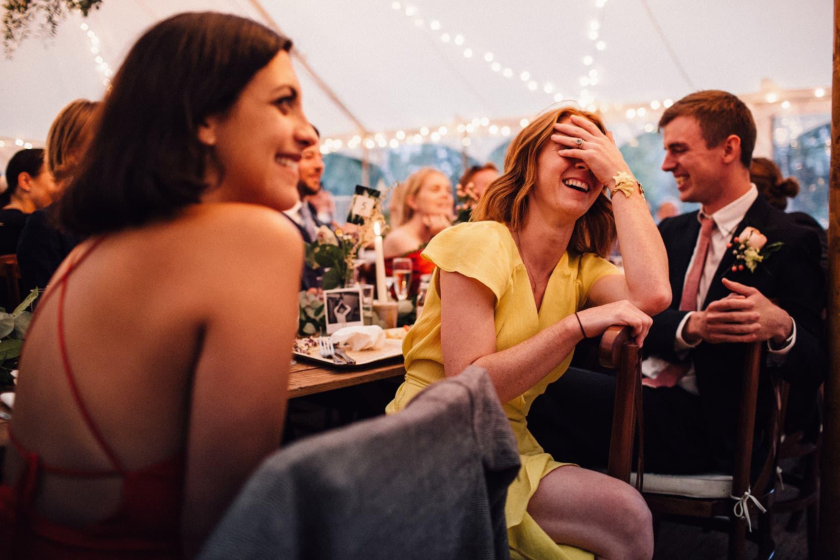 Sperry tent wedding